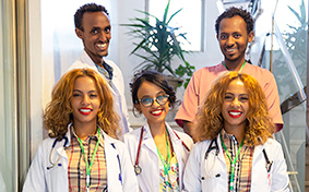 side area twins medium clinic team